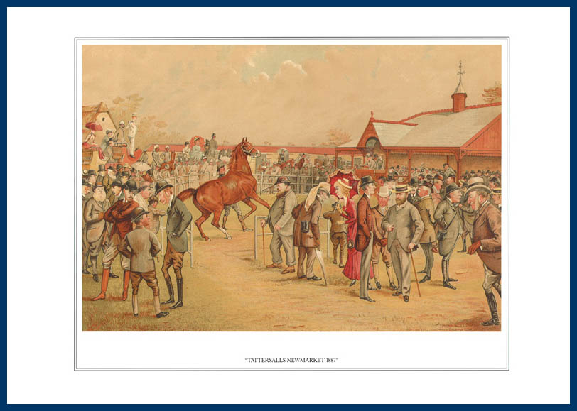 Pack Of 20 Prints - Vanity Fair Reprints - From Our Fantastic Set Of 16 Racehorses - Tattersalls Newmarket 1887